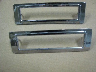 68 Shelby 1/4 panel side marker bezel (non-KR)