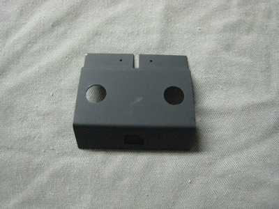 Console Toggle Switch Plate