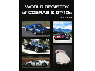 SAAC SHELBY REGISTRY  Cobra & GT40 (2008)